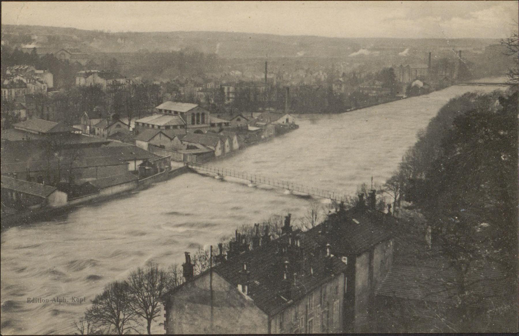 Contenu du [Épinal, Crue de la Moselle, 24 décembre 1919]
