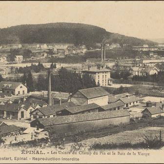 Les vallées textiles des Vosges : la vallée de la Moselle et l'ouest des V…