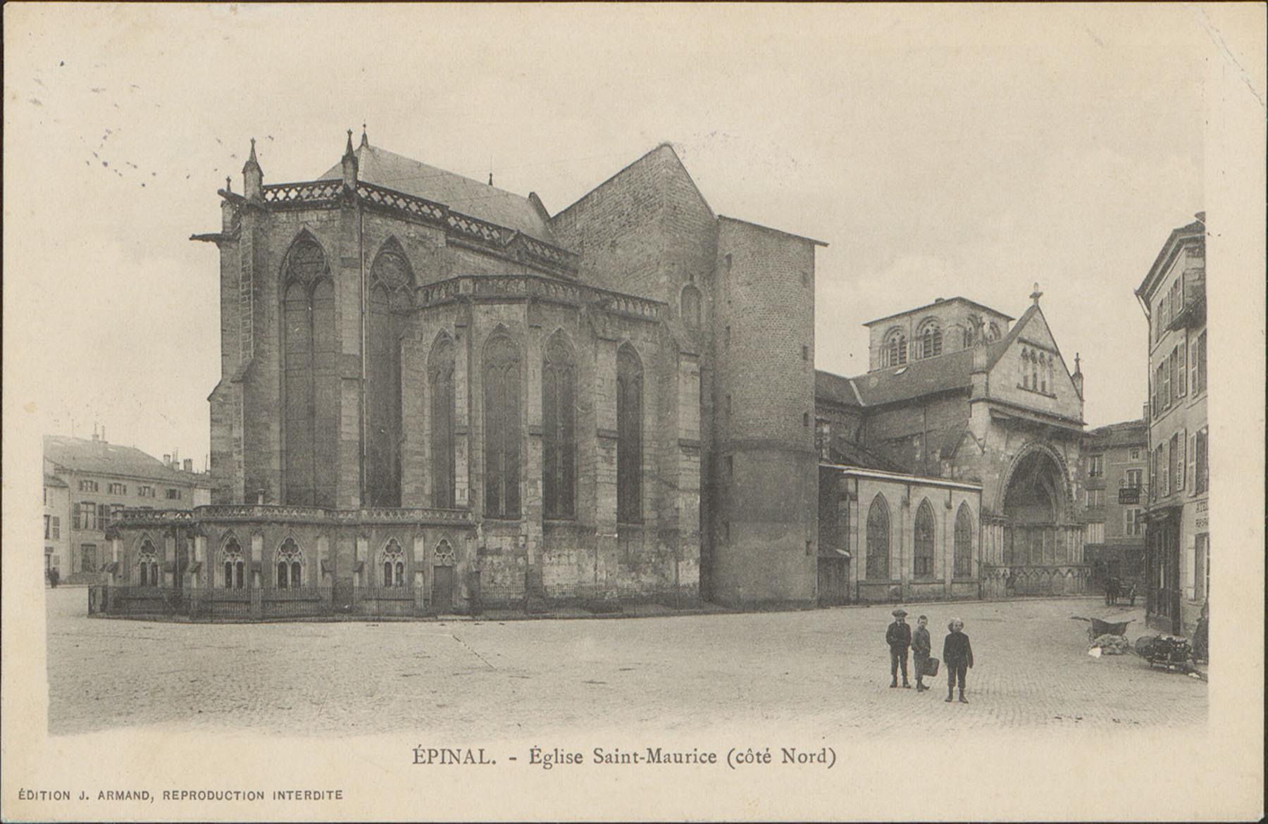 Contenu du Église Saint-Maurice à Épinal