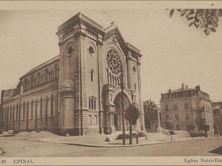 Contenu du La première église Notre-Dame-au-Cierge à Épinal