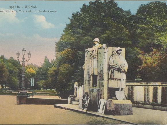 Contenu du Les monuments aux morts de la Première Guerre mondiale