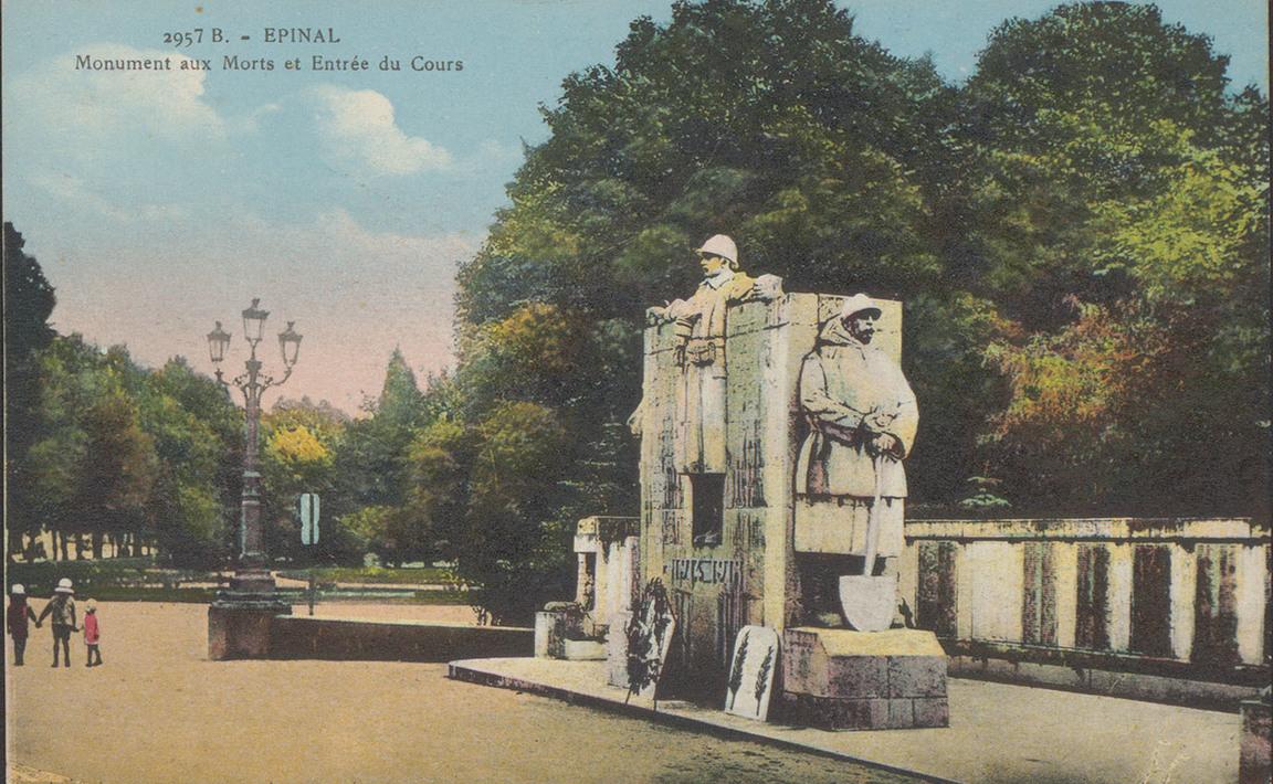 Contenu du Monument aux Morts d'Épinal