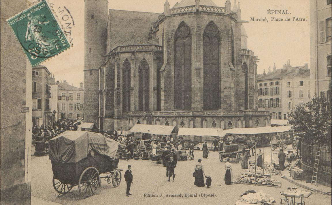 Contenu du Épinal, Marché, Place de l'Atre