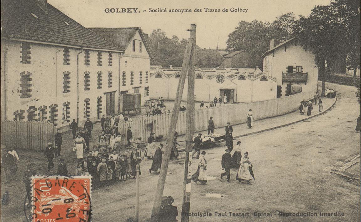 Contenu du Golbey, Société anonyme des Tissus de Golbey