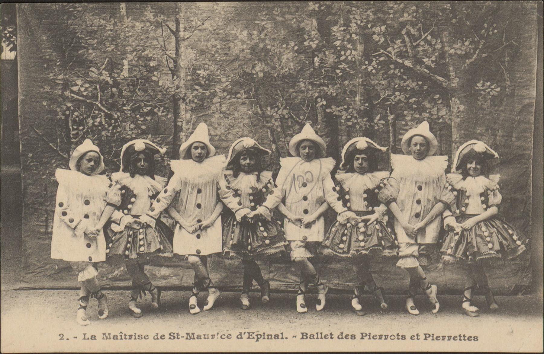 Contenu du La Maîtrise de St-Maurice d'Épinal, Ballet des Pierrots et Pierrettes