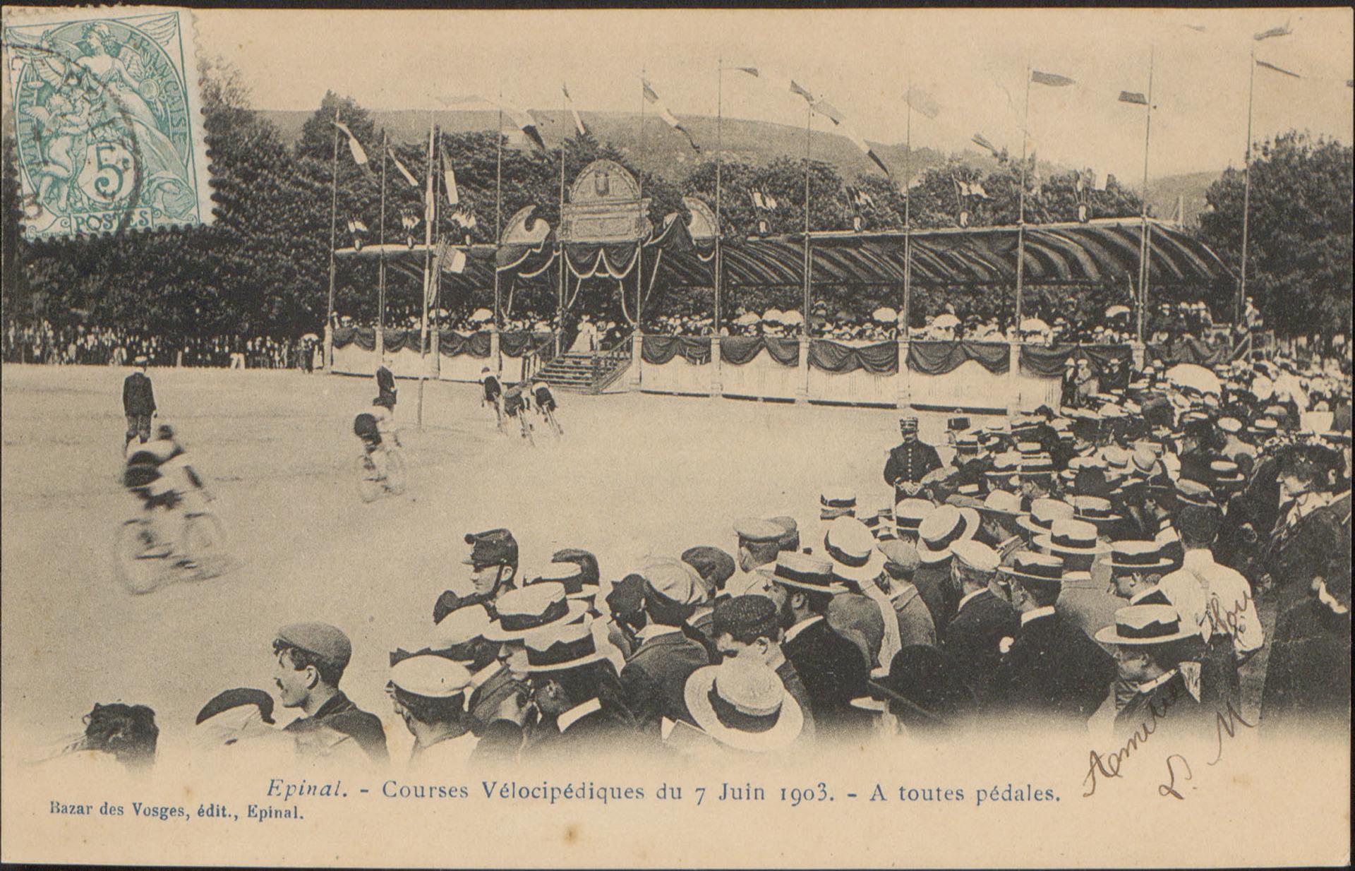 Contenu du Le vélo vu par la presse lorraine au début du XXe siècle