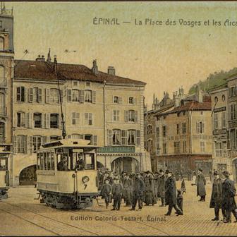 Le tramway d'Épinal