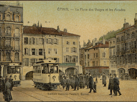 Contenu du Le tramway d'Épinal