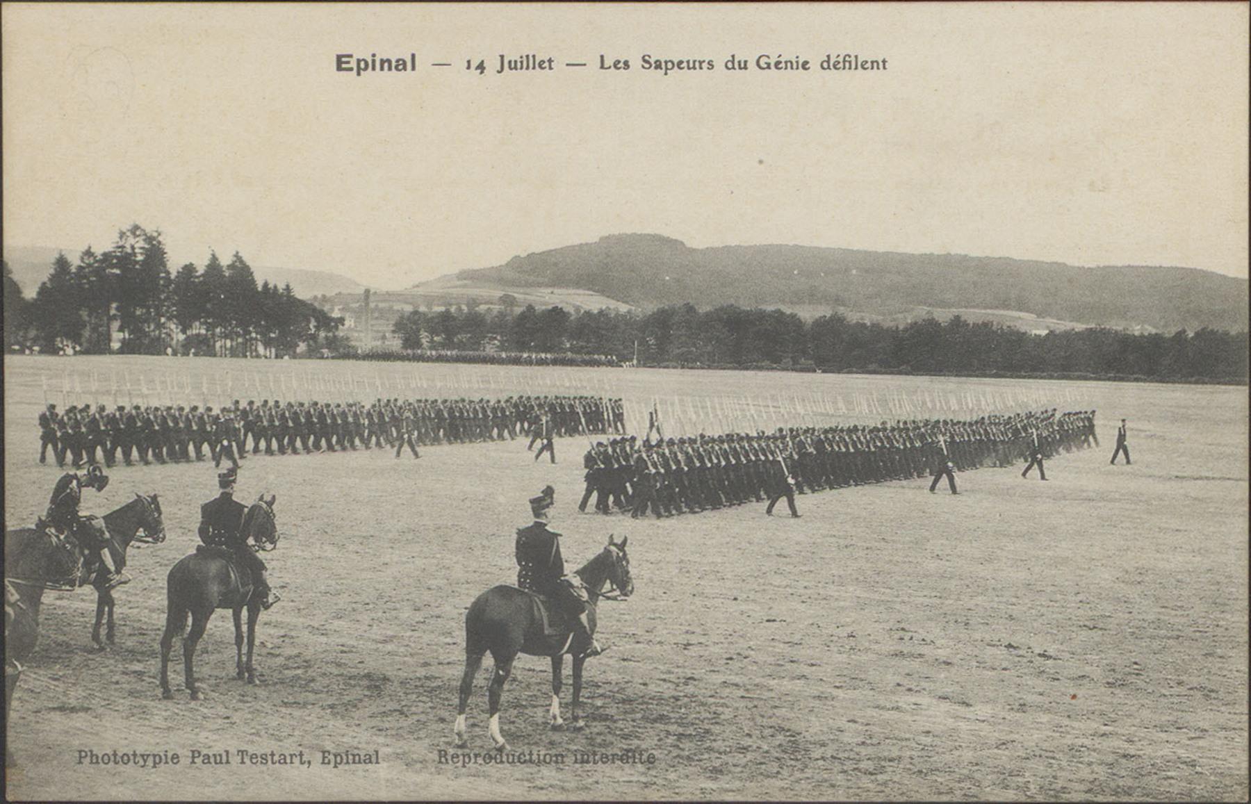Contenu du Défilé du 14 juillet à Épinal