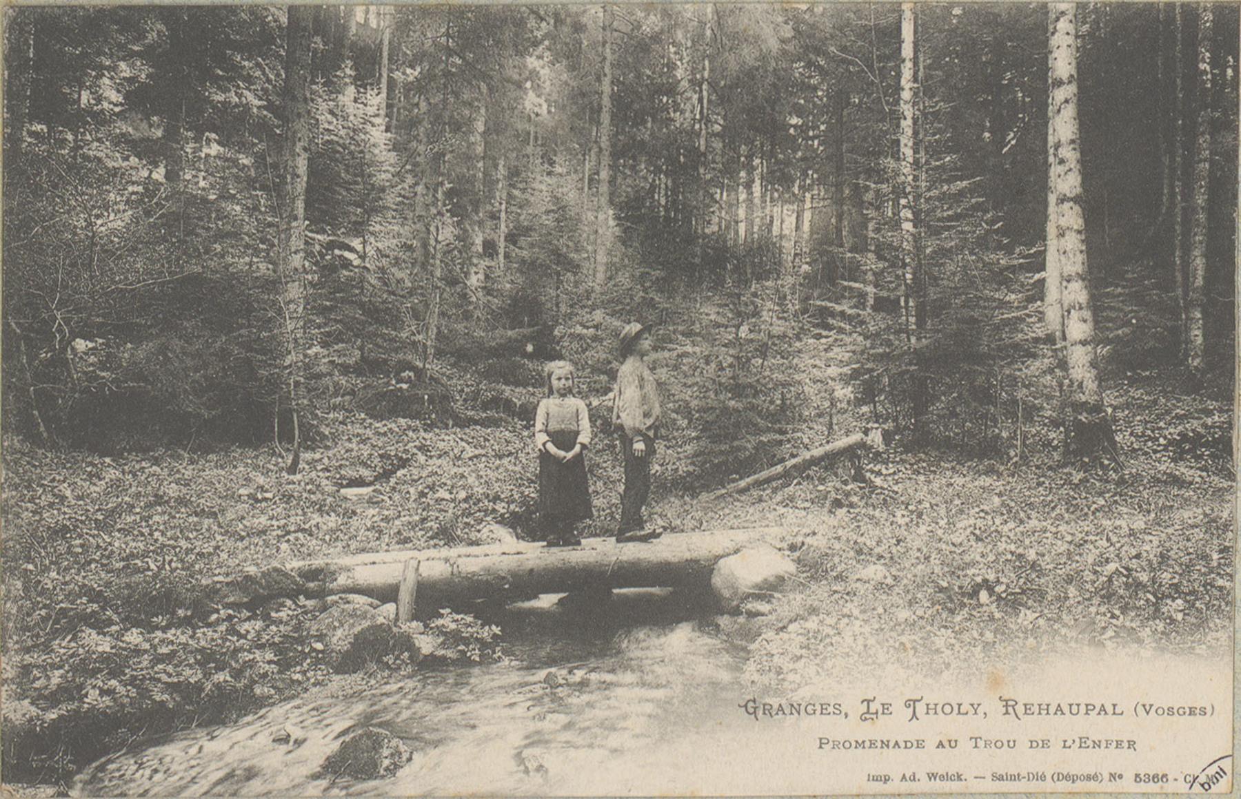 Contenu du Granges, Le Tholy, Réhaupal (Vosges)