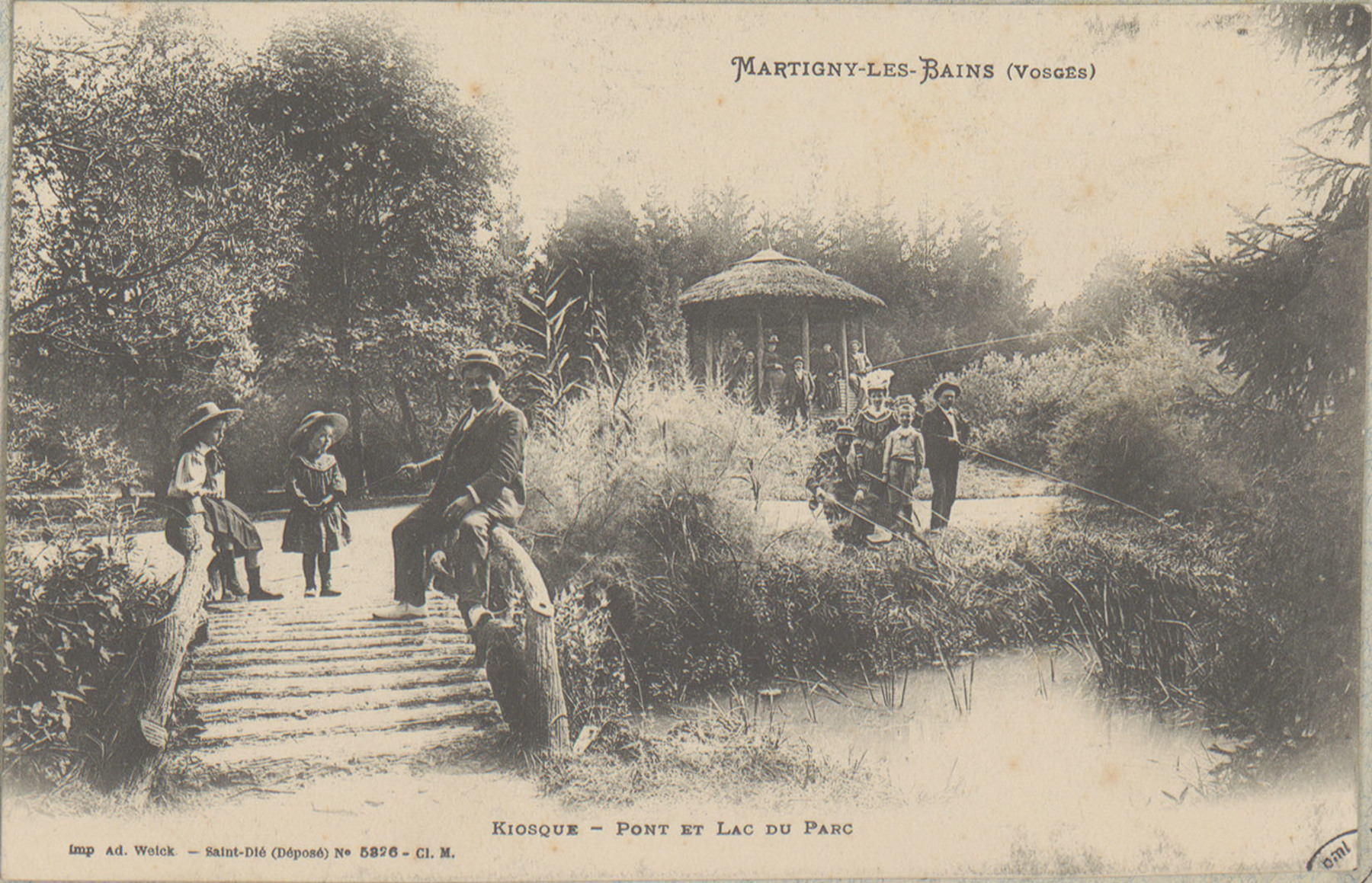 Contenu du Martigny-les-Bains (Vosges), Kiosque