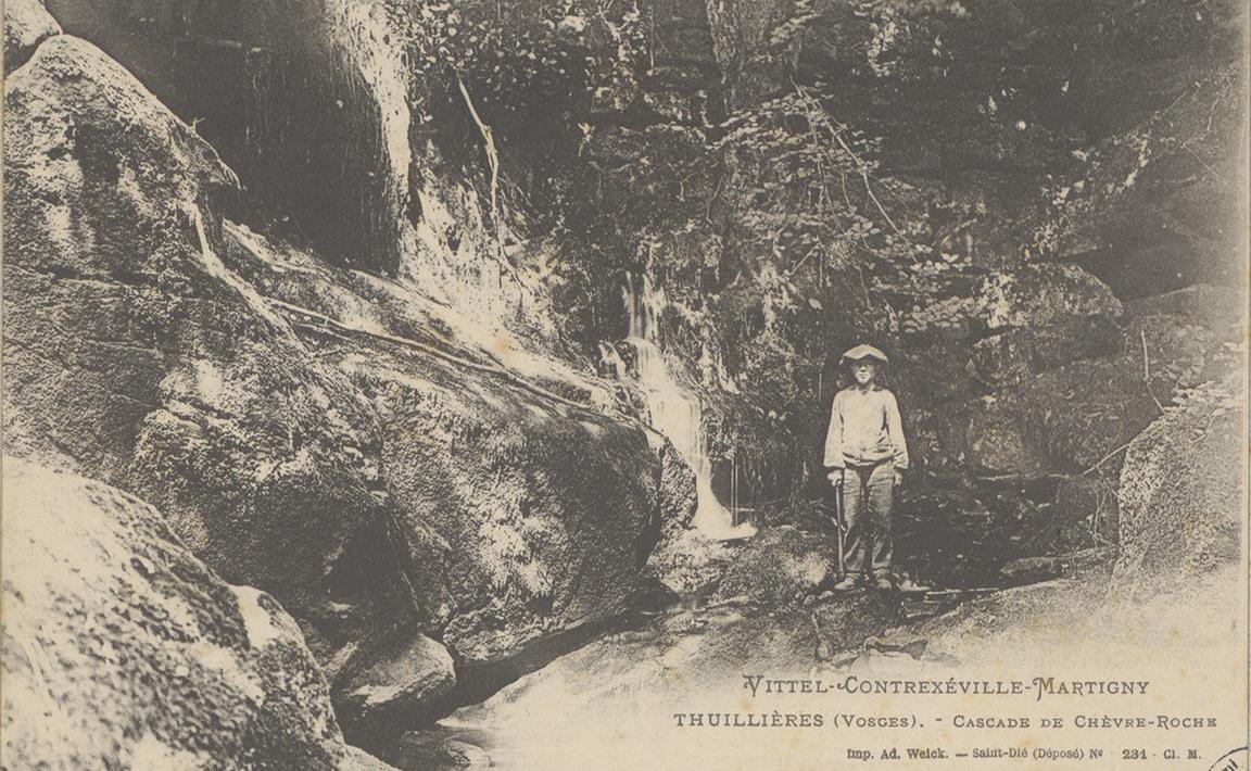 Contenu du Thuillières - La Cascade de Chèvre-Roche