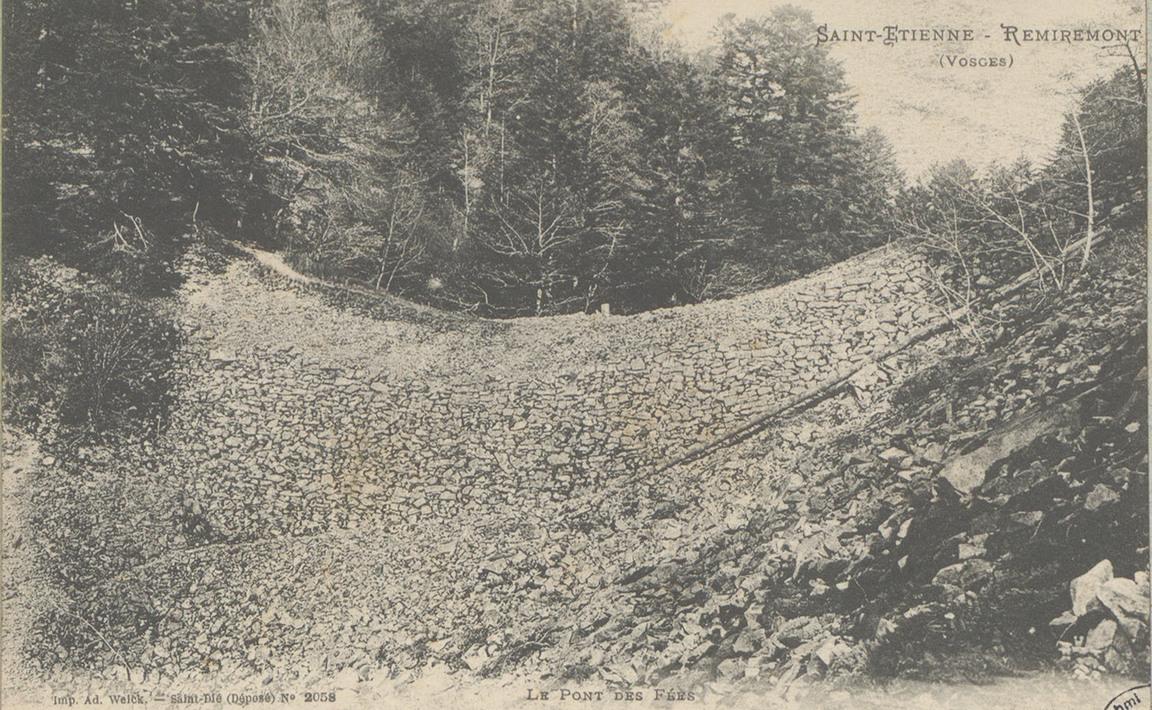 Contenu du Le Pont des Fées, Remiremont