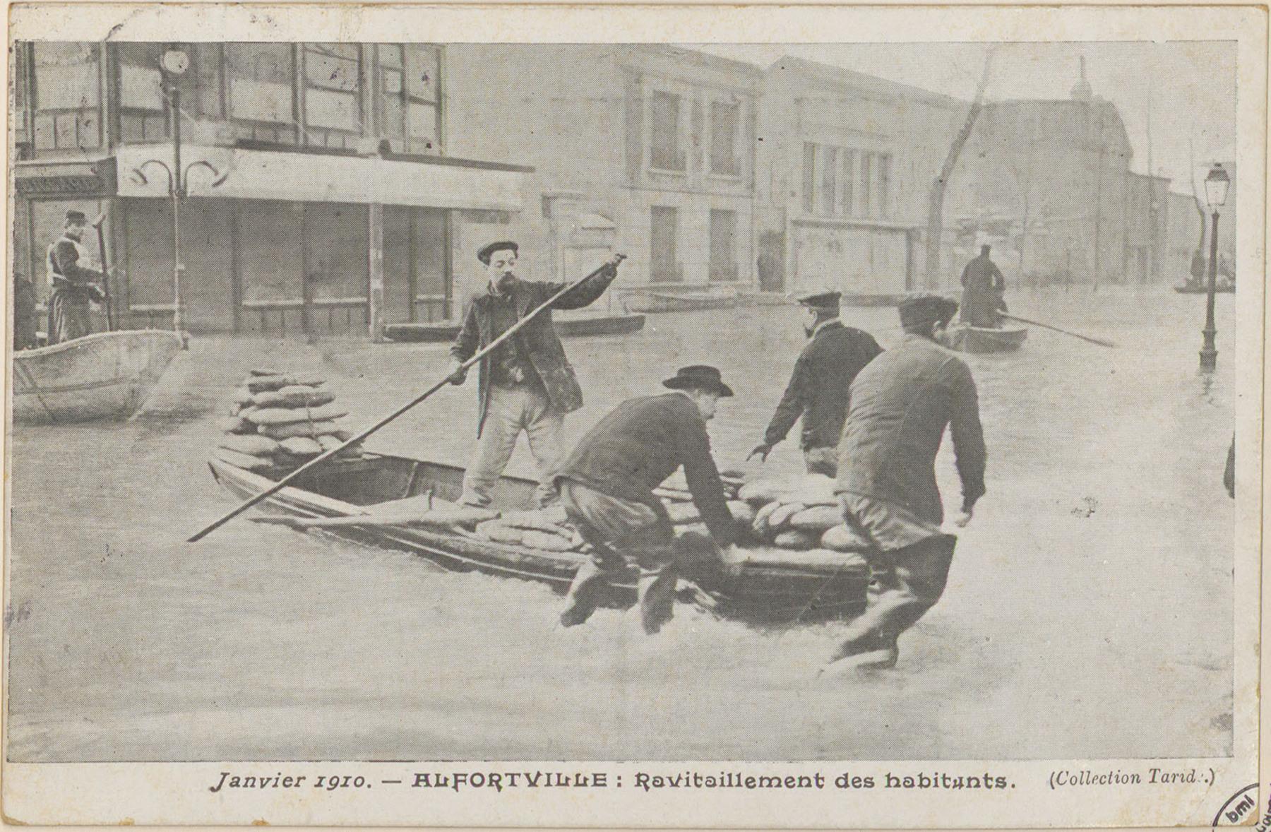 Contenu du Janvier 1910, Alfortville: Ravitaillement des habitants