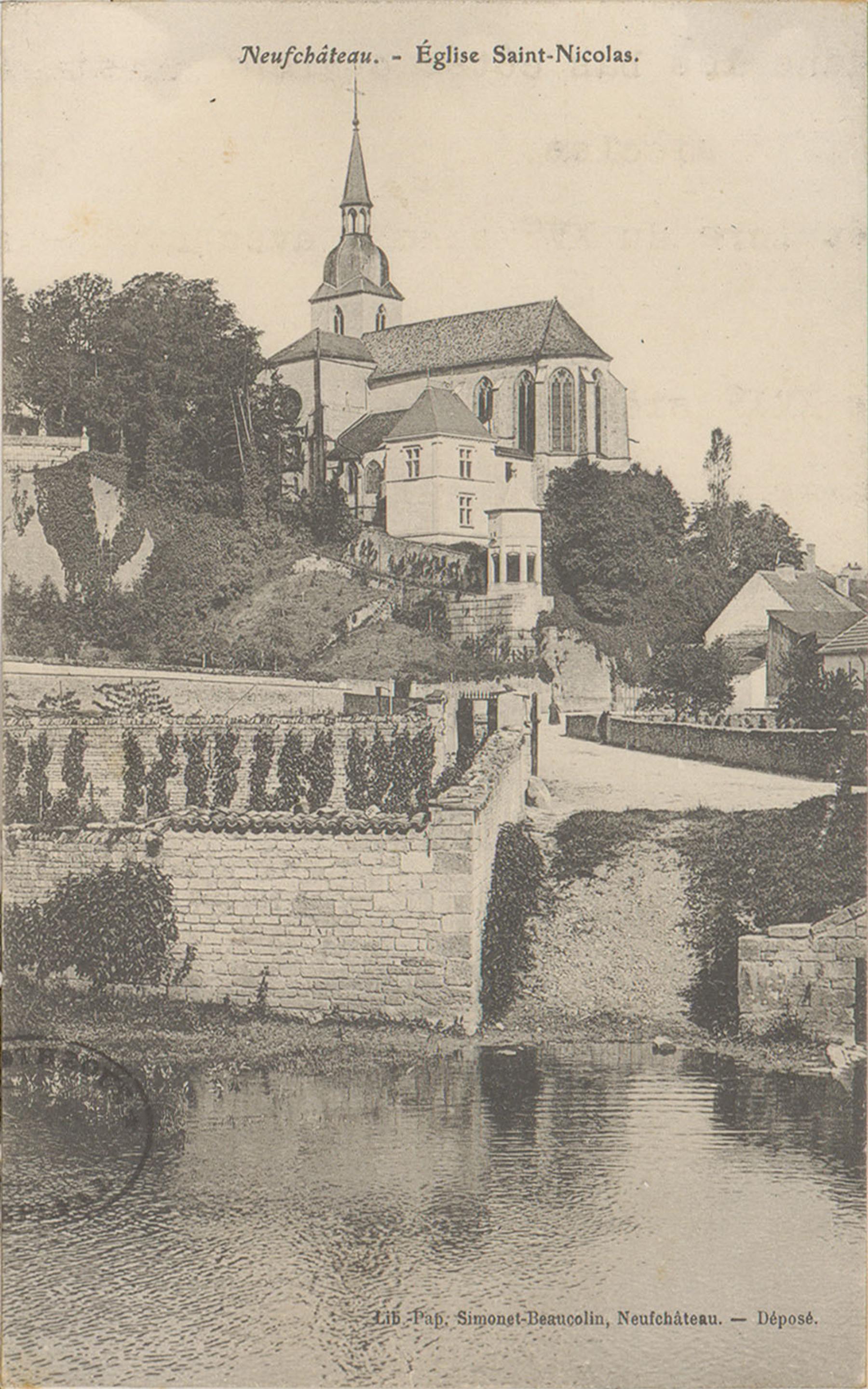 Contenu du L'église Saint-Nicolas de Neufchâteau