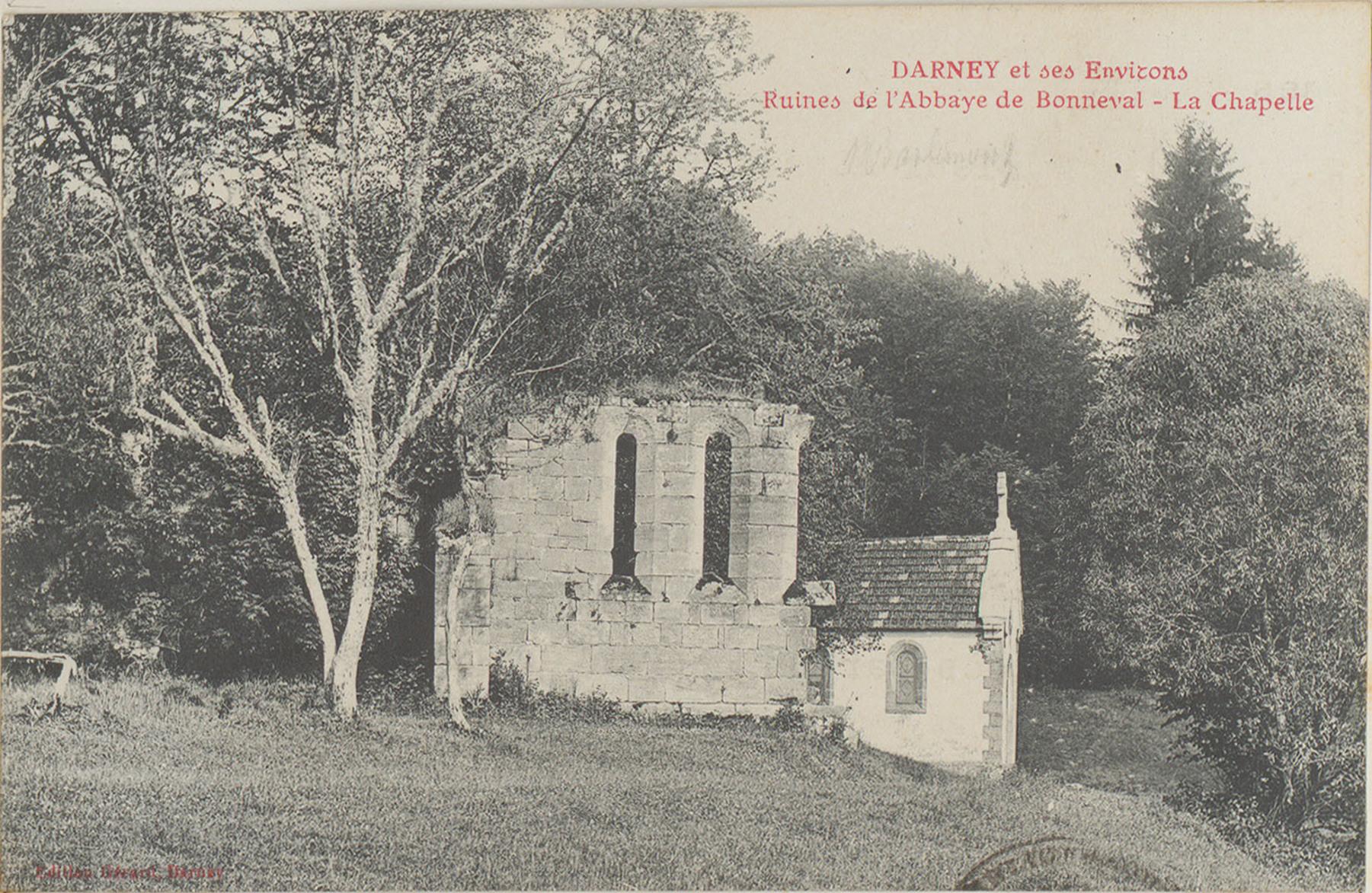 Contenu du Darney et ses environs, Ruines de l'Abbaye de Bonneval, La Chapelle