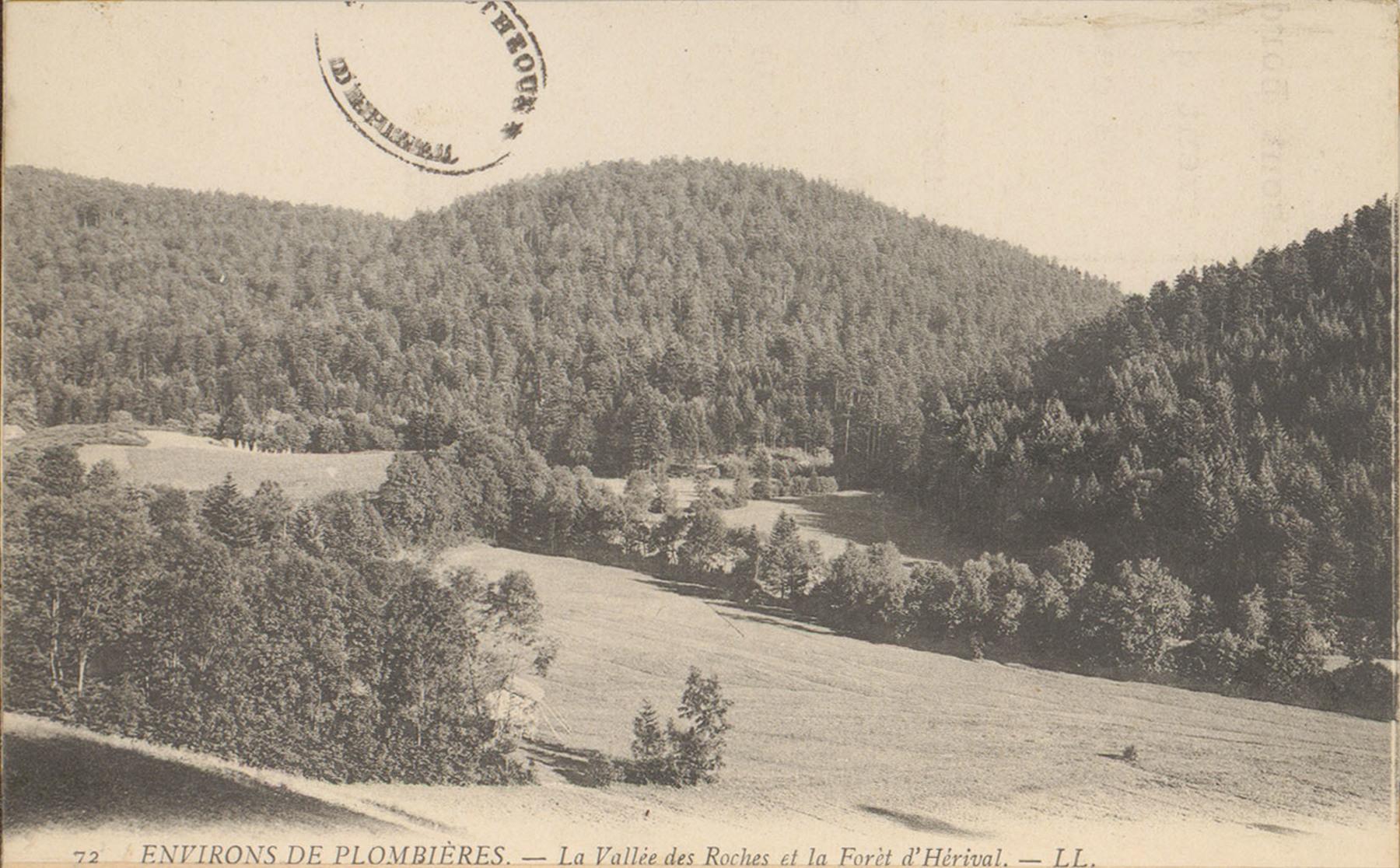 Contenu du La Vallée des Roches et la Forêt d'Hérival aux environs de Plombières