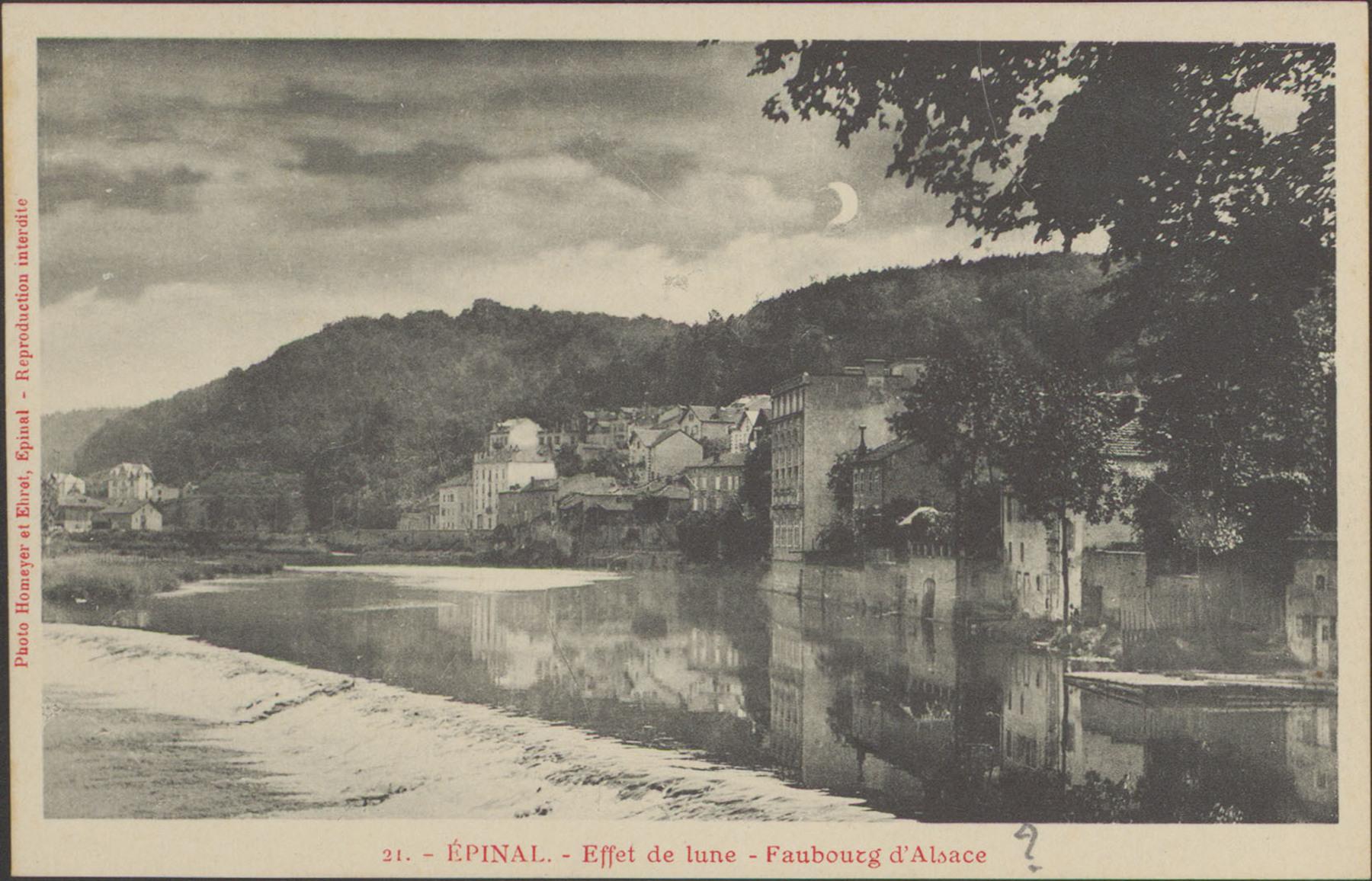 Contenu du Épinal, Effet de lune, Faubourg d'Alsace