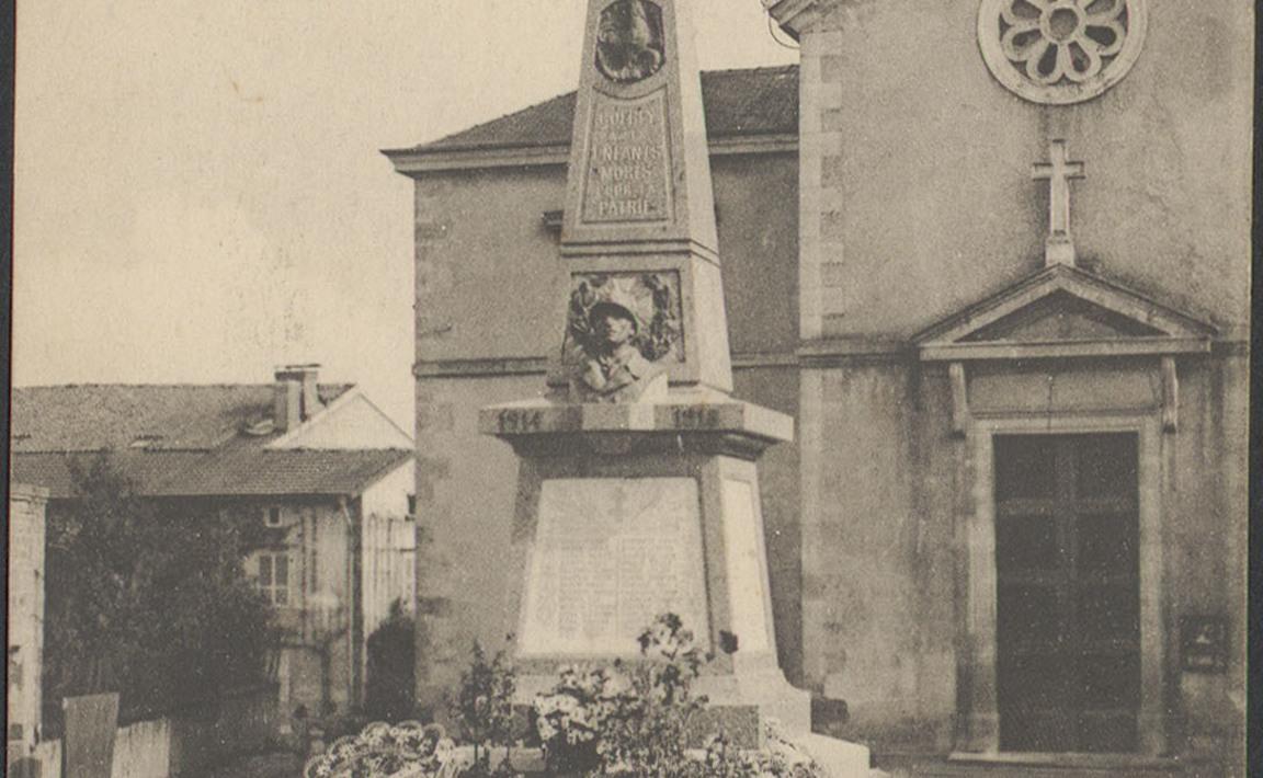 Contenu du Monument aux Morts de Golbey