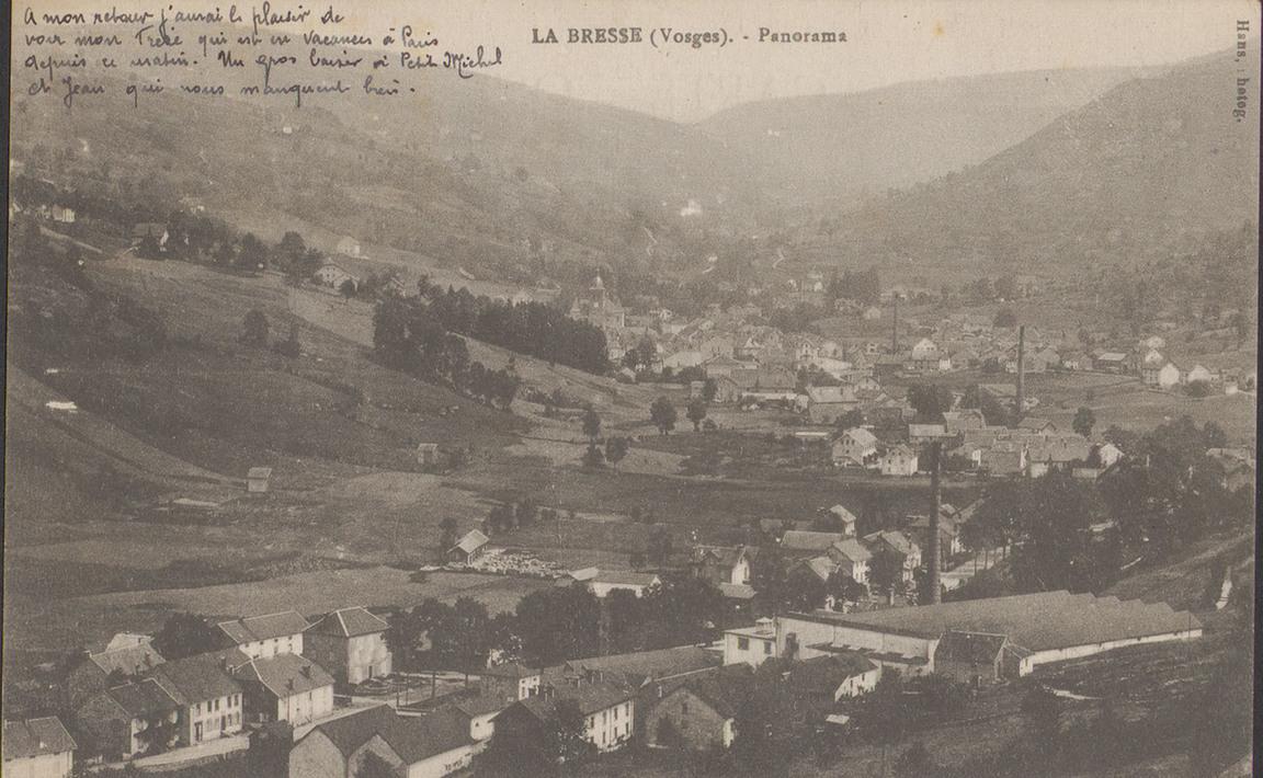 Contenu du La Bresse (Vosges), Panorama