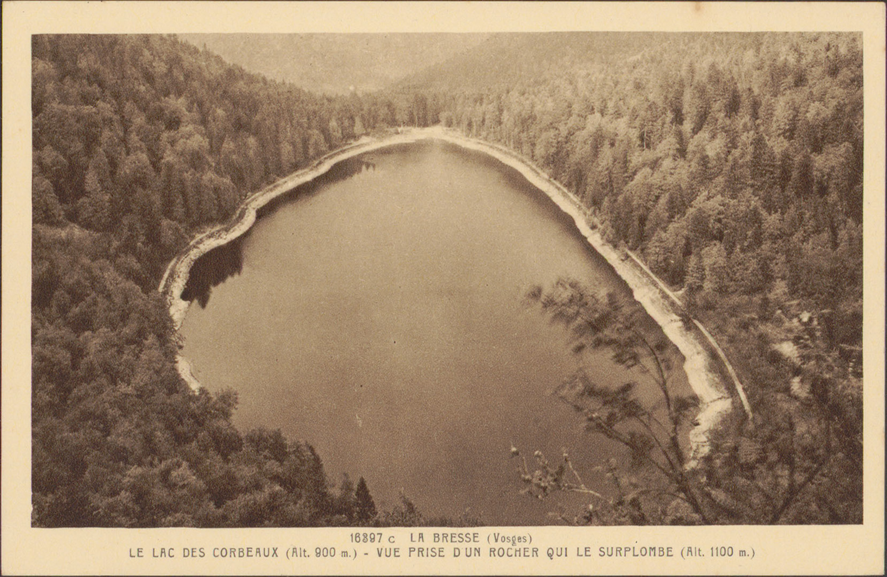 Contenu du Le Lac des Corbeaux à La Bresse (Vosges)