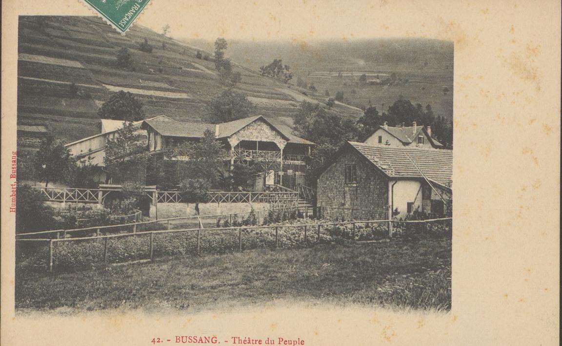 Contenu du Bussang, Théâtre du peuple