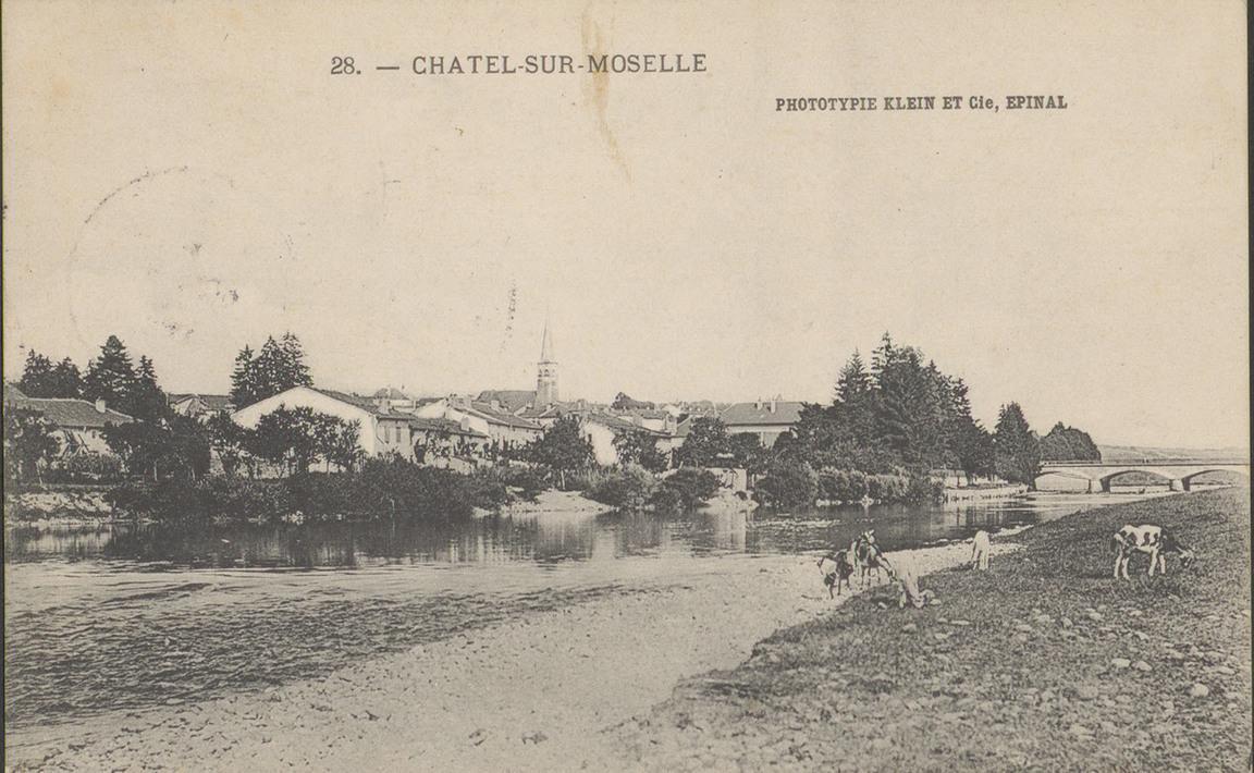 Contenu du Châtel-sur-Moselle : territoire de chasse de la bête des Vosges
