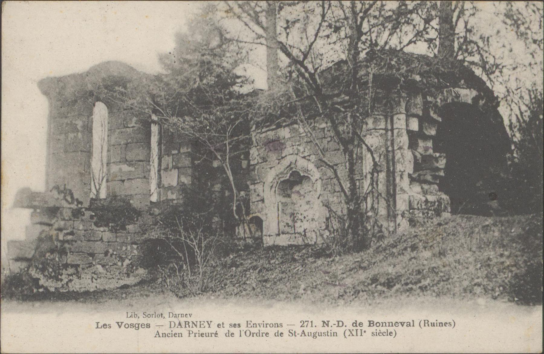 Contenu du Darney et ses environs, Ancien prieuré de l'Ordre de St-Augustin […]