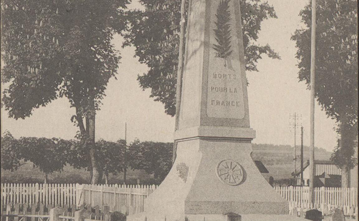 Contenu du Monument aux Morts de Dompaire
