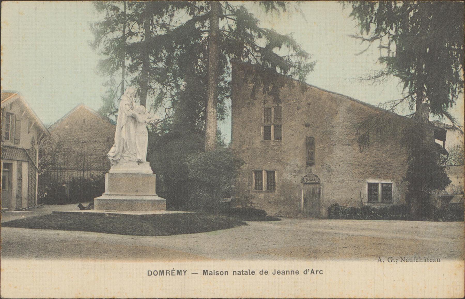 Contenu du Maison natale de Jeanne d'Arc à Domrémy