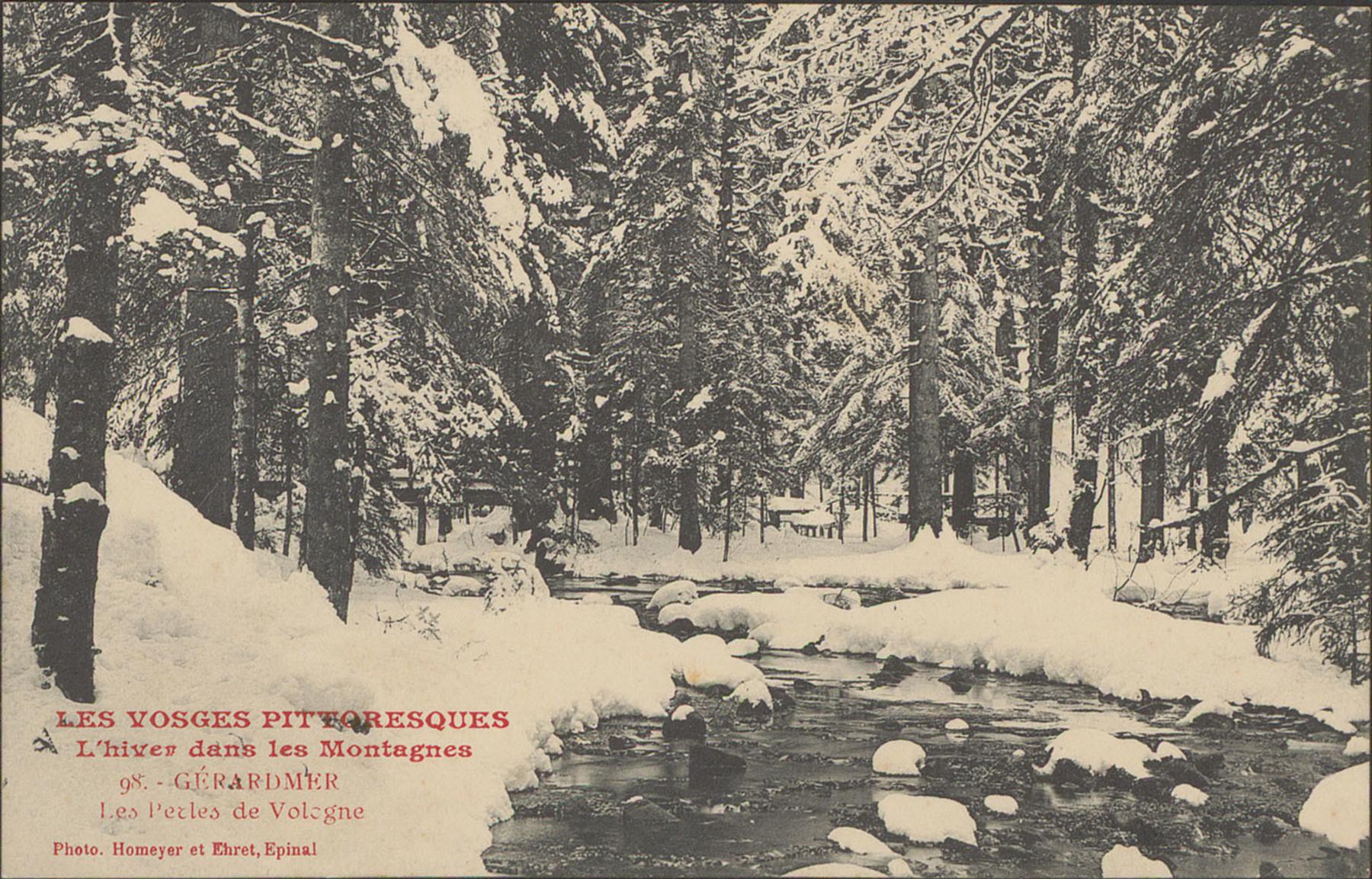 Contenu du L'hiver dans les montagnes à Gérardmer