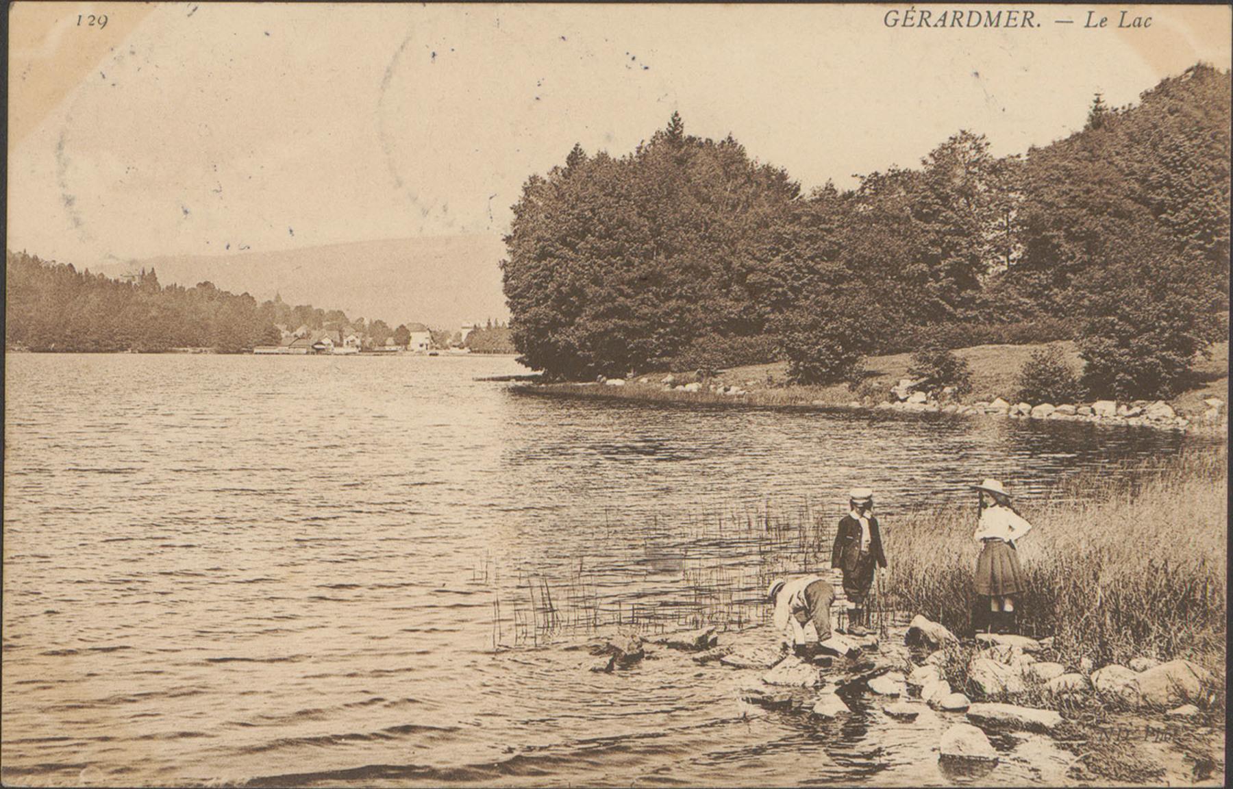 Contenu du Gérardmer, Le Lac