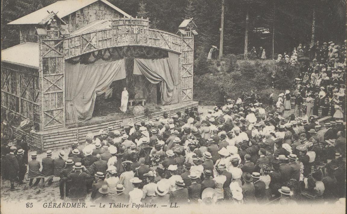 Contenu du Gérardmer, Le Théâtre populaire