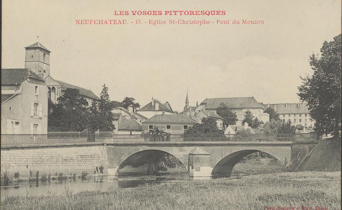 Contenu du NeufChâteau, Église St-Christophe, Pont du Mouzon