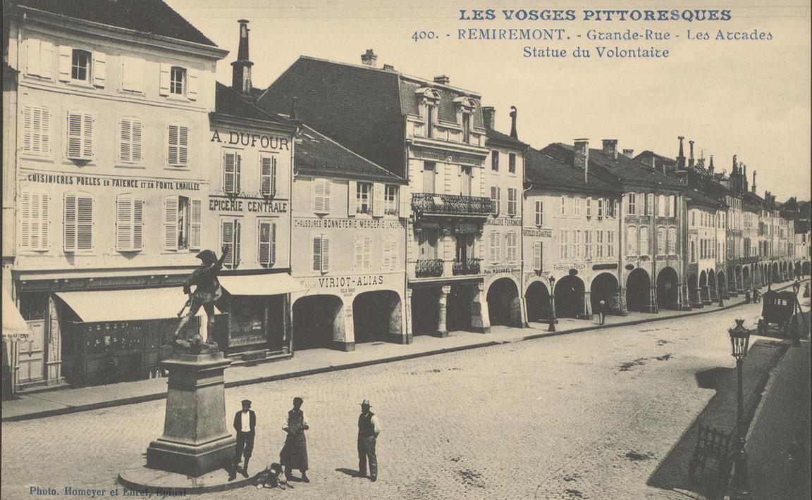 Contenu du Remiremont : statue du volontaire de 1792