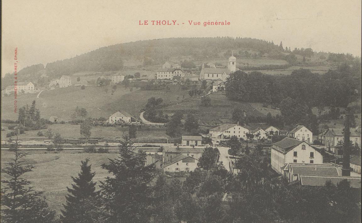 Contenu du Le Tholy, Vue générale