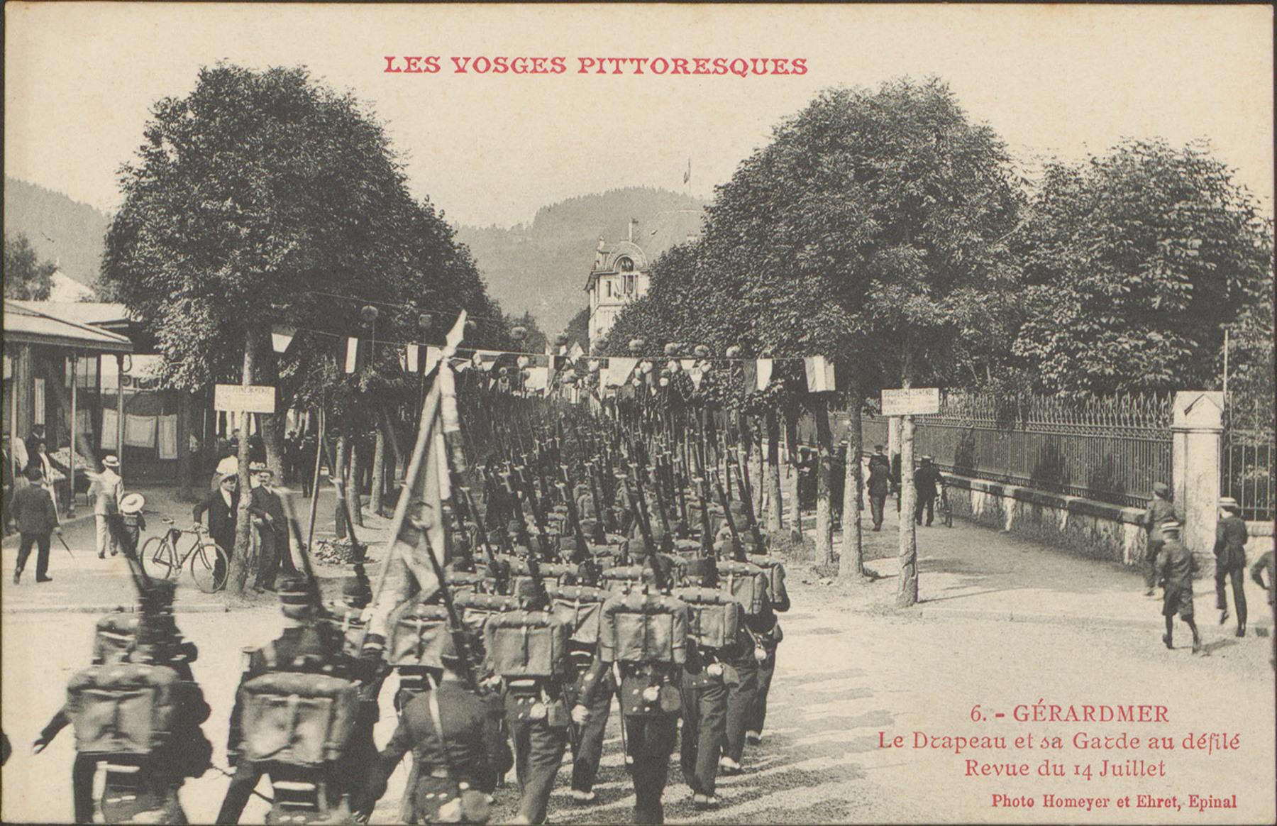 Contenu du Défilé du 14 juillet à Gérardmer