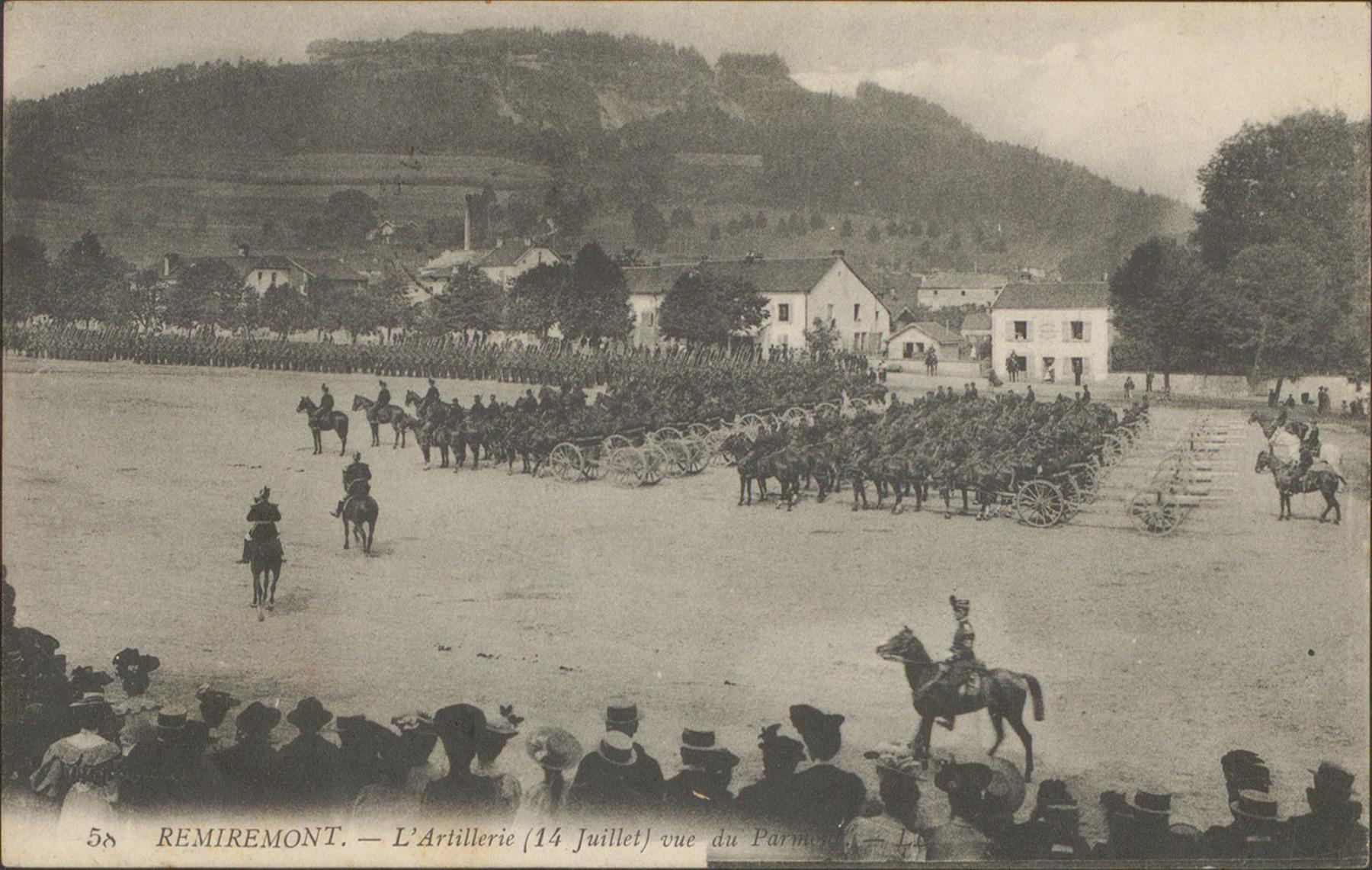 Contenu du L'artillerie de Remiremont