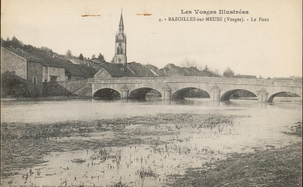 Contenu du Bazoilles-sur-Meuse (Vosges), Le Pont