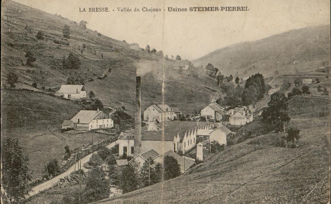 Contenu du La Bresse, Vallée du Chajoux, Usines Steimer-Pierrel