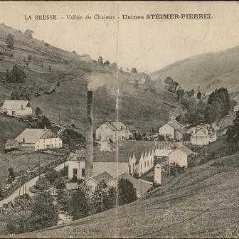 Contenu du Les vallées textiles des Vosges : la vallée de la Moselotte