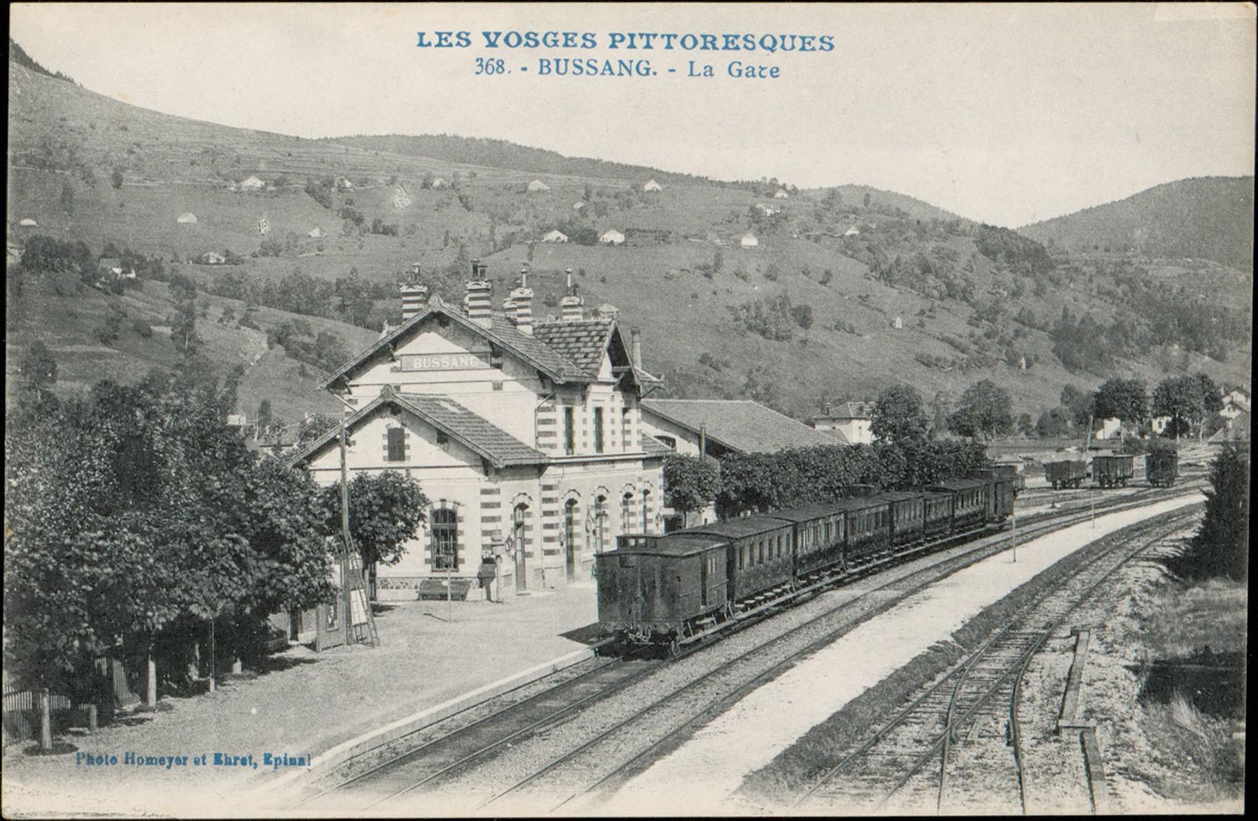 Contenu du Bussang, La Gare