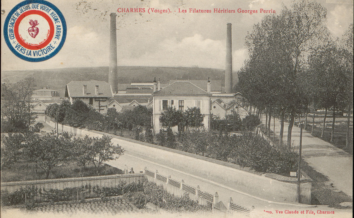 Contenu du Charmes (Vosges), Les Filatures héritiers Georges Perrin
