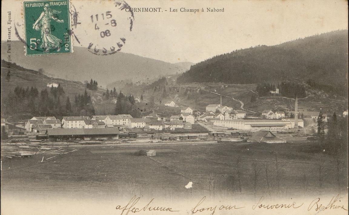 Contenu du Cornimont, Les Champ à Nabord