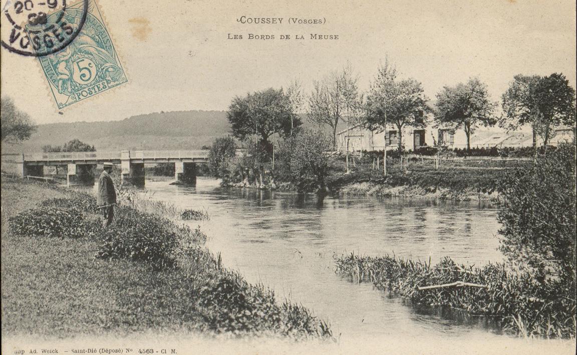 Contenu du Coussey (Vosges), Les Bords de la Meuse