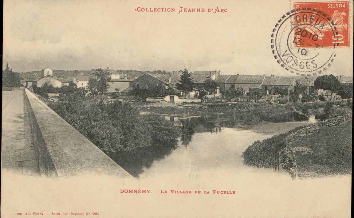 Contenu du Domrémy, Le Village de la Pucelle