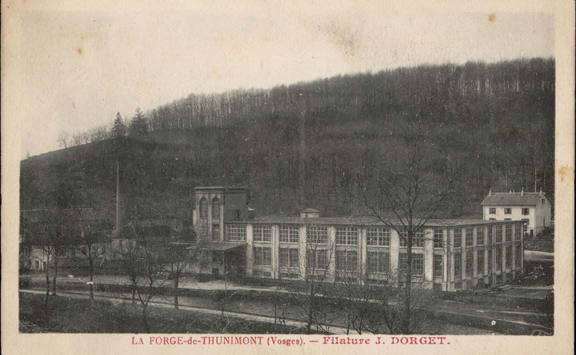 Contenu du La Forge-de-Thunimont (vosges), Filature J. Dorget