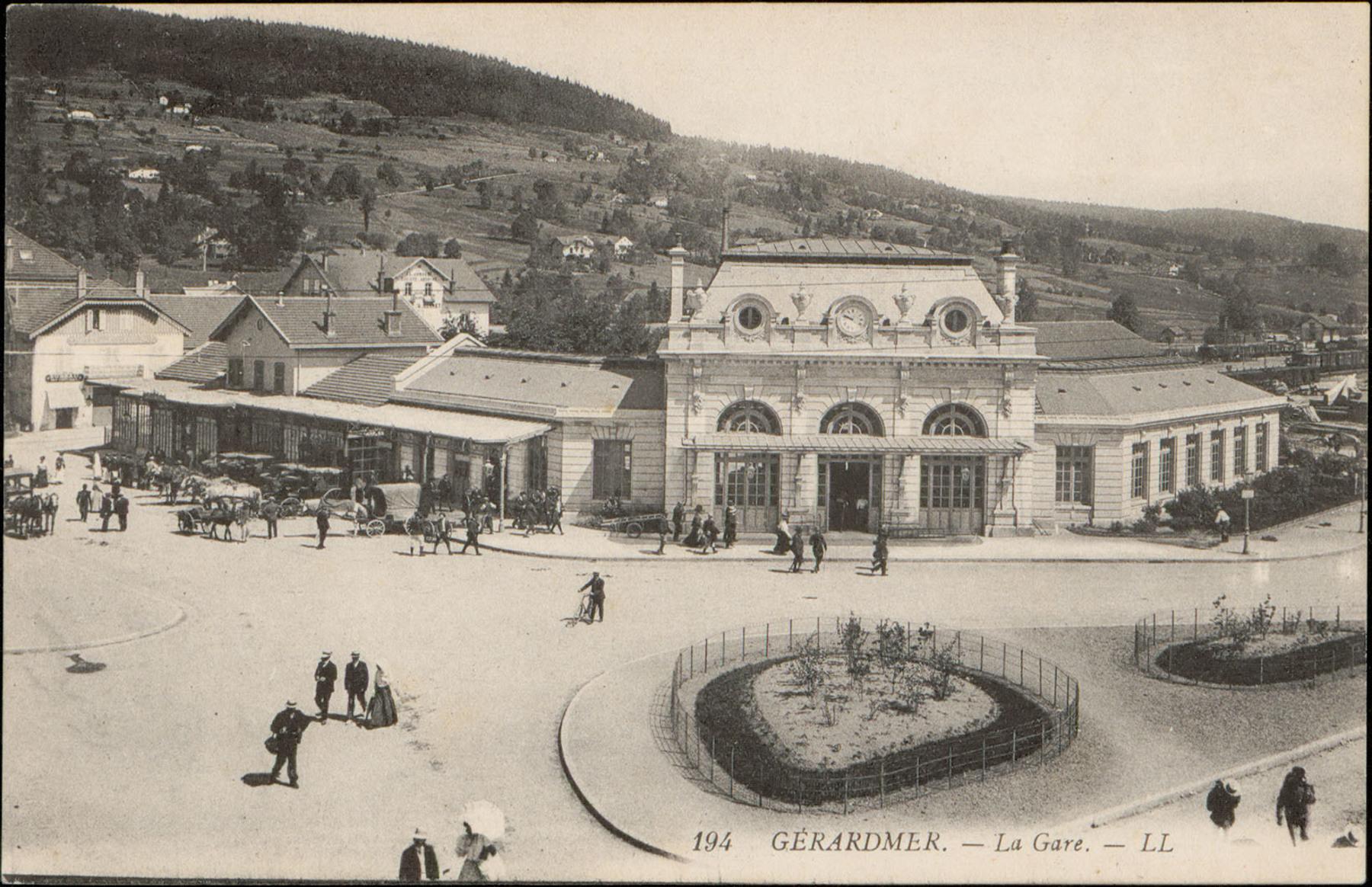 Contenu du Gérardmer, La Gare