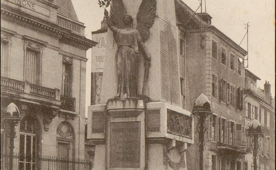 Contenu du Monument aux Morts de Mirecourt