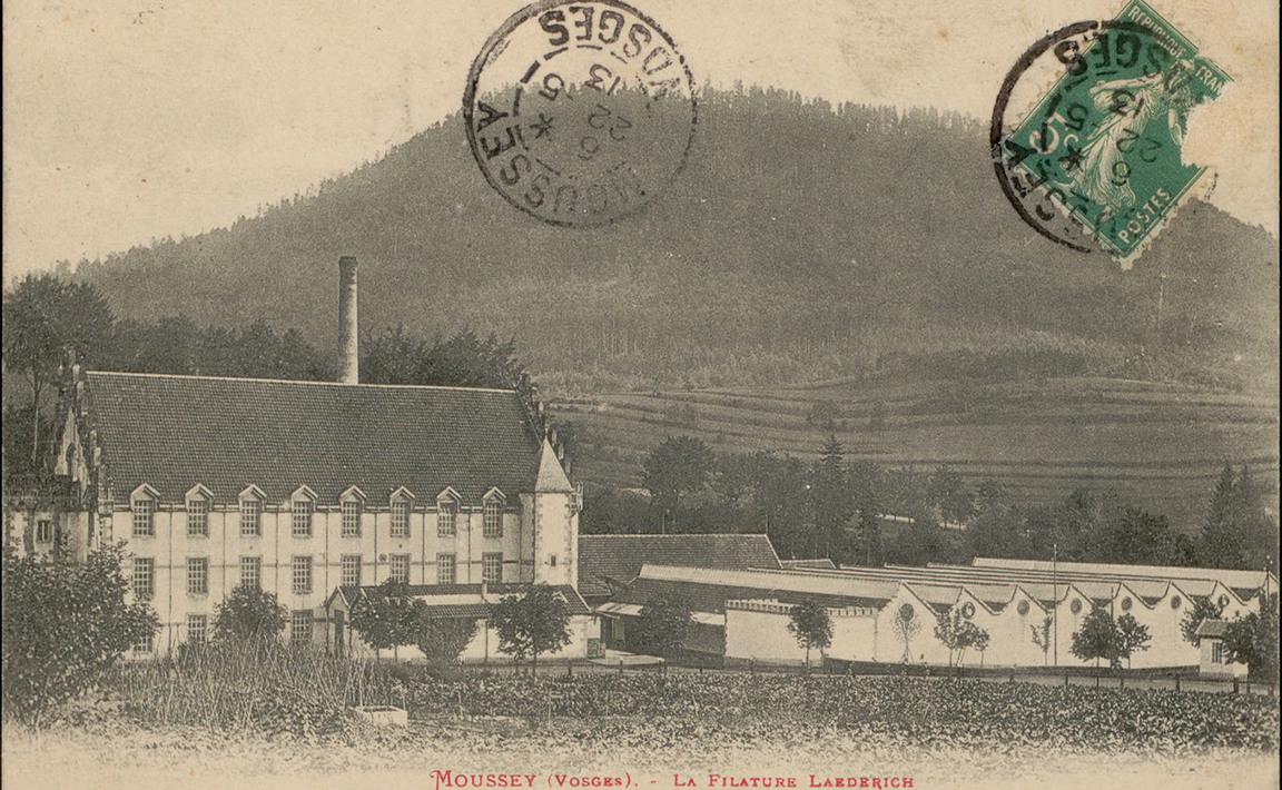 Contenu du Moussey (Vosges), La Filature Laederich
